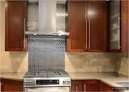 Brown Kitchen Backsplash - Brown subway tile backsplash