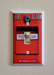 Firefighter Home Decorations Firefighter Man Cave Fire Alarm Light Switch Man Cave Ideas