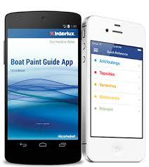 boat paint guide mobile app interlux