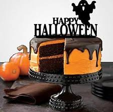 Halloween Cake Decorations Halloween Party Cake Toppers Ebay