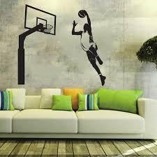 popular wall sticker basketball black buy cheap wall sticker