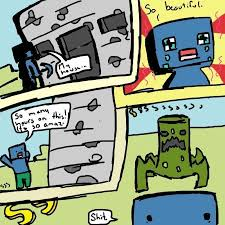 image 81553 minecraft creeper know your meme