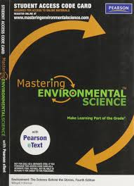 masteringenvironmentalscience with pearson etext student access