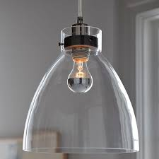 clear glass light fixtures industrial ceiling l clear glass west elm uk