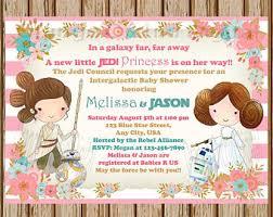 Star Wars Baby Shower Invitations - star wars baby shower invitation jedi baby shower star wars