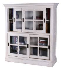 Glass Bookcases Book Cases With Glass Doors Impressive Home Design