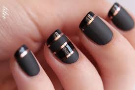Black Manicure Designs 2 99 Black Matte Nail For Mnicure Nail Designs 15