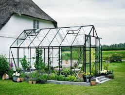 serre horticole en verre serre de jardin magnum 11 5m en aluminium et verre trempé 3mm