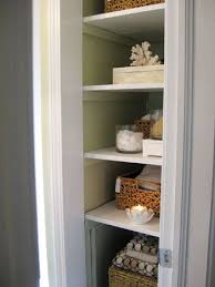 bathroom closet door ideas beautiful bathroom closet shelving with linen closet organization