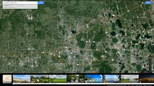 Florida Google Maps by Lakeland Florida Map