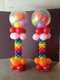 Pillars And Columns For Decorating 313 Best Balloons Columns Images On Pinterest Balloon