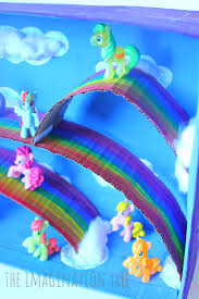 my little pony magical small world pony craft and activities