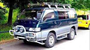 mitsubishi delica 1992 mitsubishi delica star wagon turbo diesel 4wd usa import