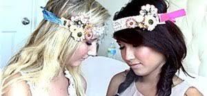 hippie headbands how to make diy bohemian hippie headbands sewing embroidery