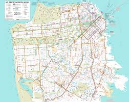 San Francisco Sightseeing Map by San Francisco Map Map Travel Holiday Vacations