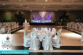 wedding backdrop london purple and white wedding reception and ceremony decor at idlewyld