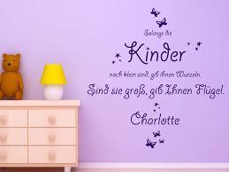 wandtattoos für kinderzimmer wandtattoo gib kindern flügel mit wunschname wandtattoos de