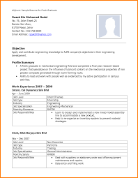 Best Sample Resume For Freshers Engineers by Sample Resume For Freshers Engineers Pdf Download Resume For