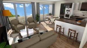 projet cuisine 3d aménagement 3d salon cuisine micaza fr projets réaménagement