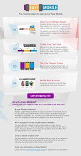 easy mobile singtel