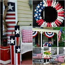 Fourth Of July Door Decorations 4th Of July Front Porch Ideas Patriotic Outdoor Decorations For