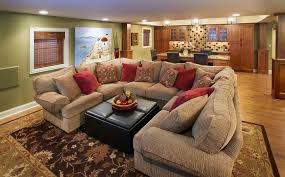 Traditional Family Room Brandon Architects Inc Open Kitchen And - Traditional family room design ideas