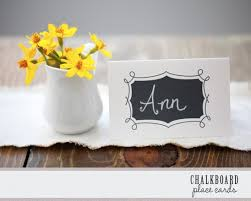 Placecards Free Printables Chalkboard Place Cards