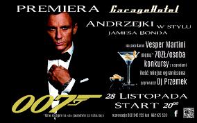 vesper martini james bond garagehotel james bond w garagehotel u2013 andrzejki 2015