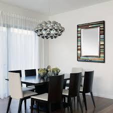 blue reclaimed reflection wood wall art mirror u2013 scrap wood designs