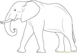 elephant coloring free elephant coloring pages