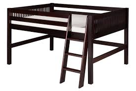Wood Twin Loft Bed Plans by Twin Loft Bed Wood Best Loft 2017