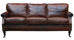 Distressed Leather Armchairs Leather Furniture