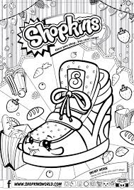 shopkins coloring pages getcoloringpages