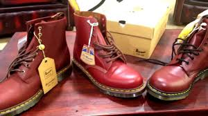 dr martens oxblood vs cherry red youtube