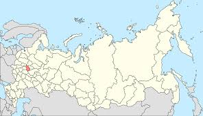Russian Map Vladimir Russia Wikipedia