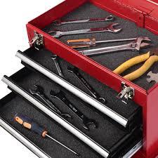 costway pc mini tool chest u0026 cabi storage box rolling garage tool