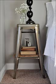 bedroom bed night stands narrow nightstand ideas bedside table