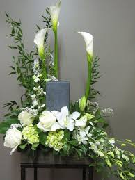 flower arrangements for funerals 93 best urn flowers images on flower arrangements
