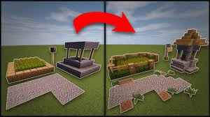 Remodeling A House Minecraft How To Remodel A Village Well Farms Lamp Post