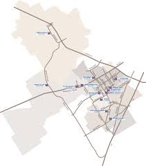 Map Of Waco Texas About Midway District Maps
