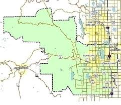 Estes Park Colorado Map Service Area Map Our Services