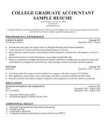 Recent Resume Format College Graduate Sample Resume Good Resume Examples For College