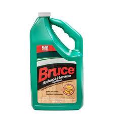 bruce hardwood and laminate floor cleaner refill 1 2gal