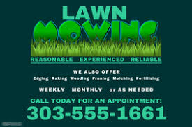Lawncare Business Cards Lawn Service Flyer Templates Postermywall