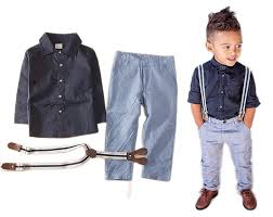 baby boy sleeve t shirt suspender straps and