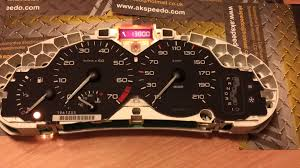 peugeot 206 speedometer repair youtube