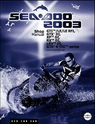 bombardier sea doo 2003 parts catalog repair manual order u0026 download