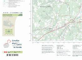 free georeferenced topographic map sheets canadian gis geomatics