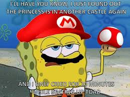 Tough Spongebob Meme - its a me spongebob mariopants meme by big guy memedroid