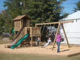 quality commercial wooden playsets carolina backyards